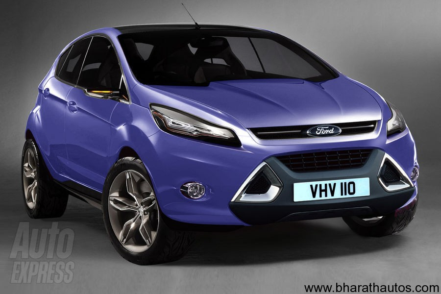is 2011 ford fiesta crossover on the cards for indian market. Black Bedroom Furniture Sets. Home Design Ideas