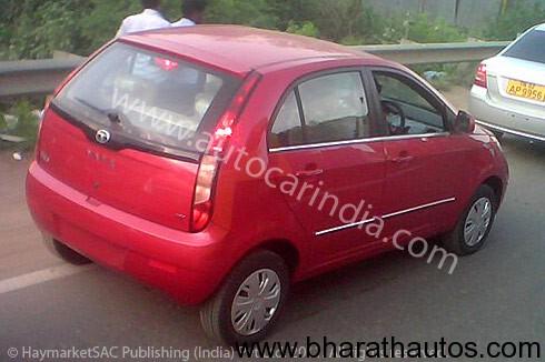 Tata Indica Vista facelift - Rear