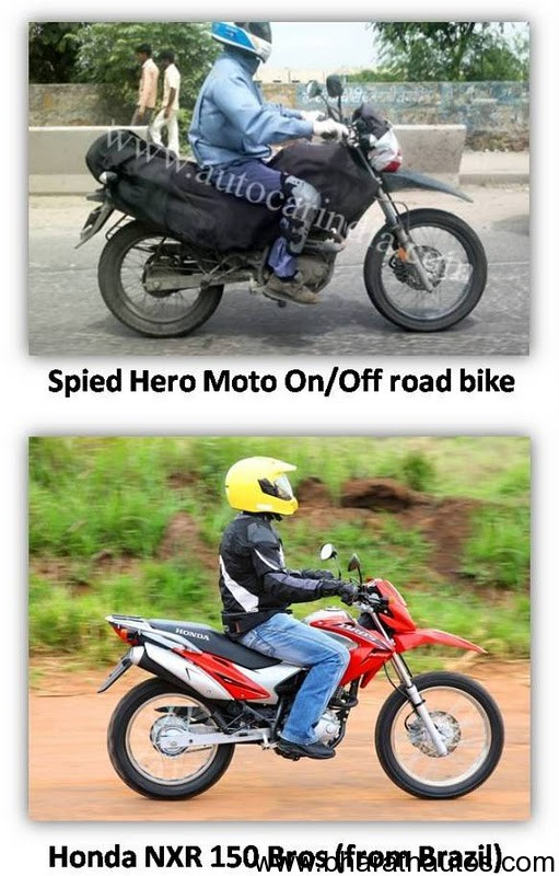 Is Honda NXR150 Bros, the Hero MotoCorp's dirt bike in India?