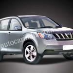 Mahindra's W201 SUV - 001