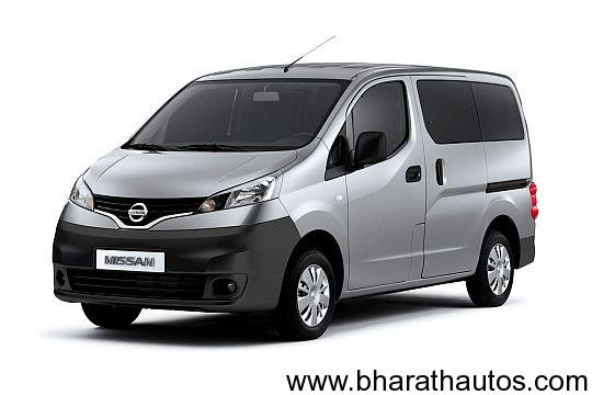 Nissan-Ashok-Leyland-NV200-MPV-Front