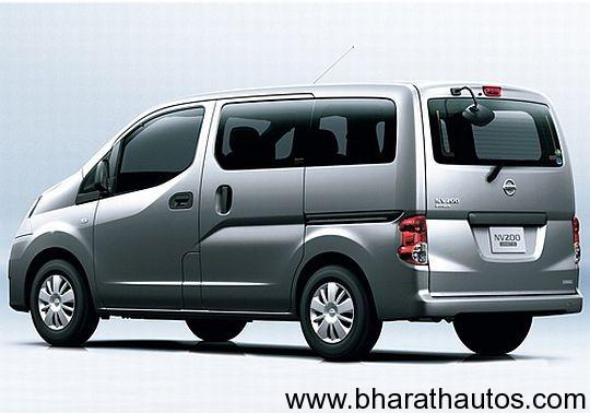 Nissan-Ashok-Leyland-NV200-MPV-Rear