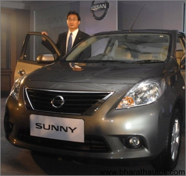 Nissan-Sunny-unveiled-India