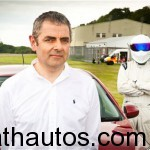 Mr. Bean escapes fiery crash in his McLaren F1
