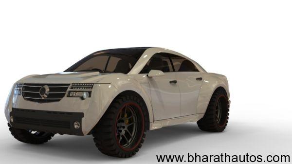 Designer Sunil Kanjoril Hybrid SUV Concept