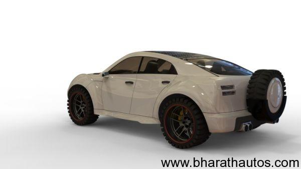 Designer Sunil Kanjoril Hybrid SUV Concept - 002