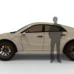 Designer Sunil Kanjoril Hybrid SUV Concept - 001