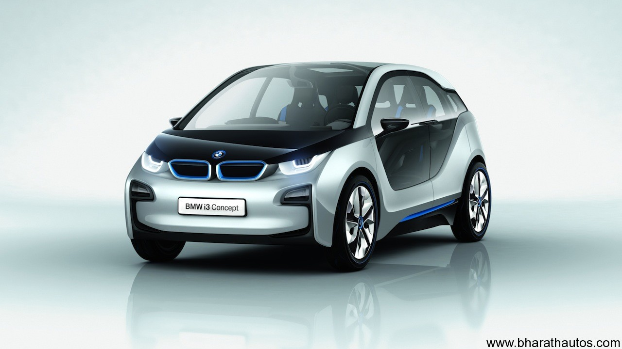 BMW i3 Plug-in Electric Concept Car - 001