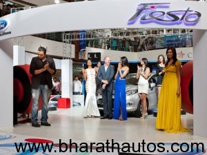 Ford India temporary Fiesta cafes in malls