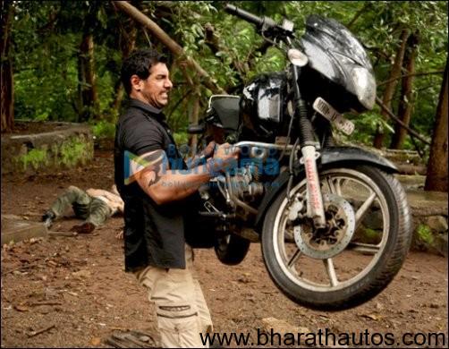 Vidyut Jamwal Ducati Bike