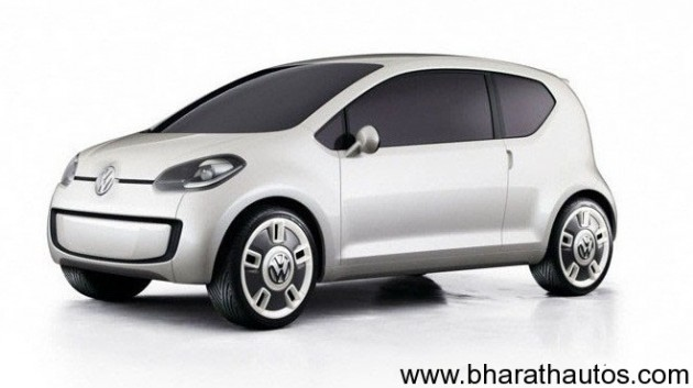 Volkswagen Up - Front