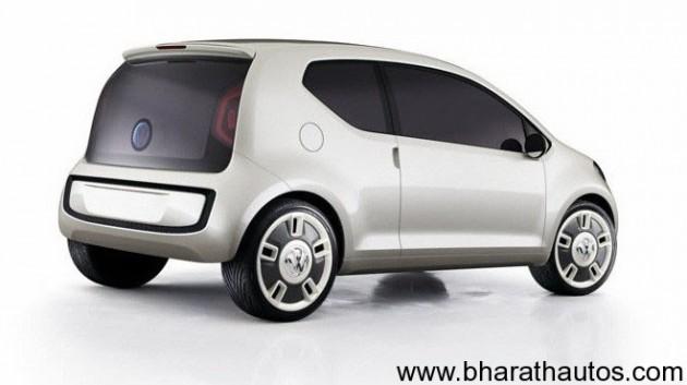 Volkswagen Up - Back