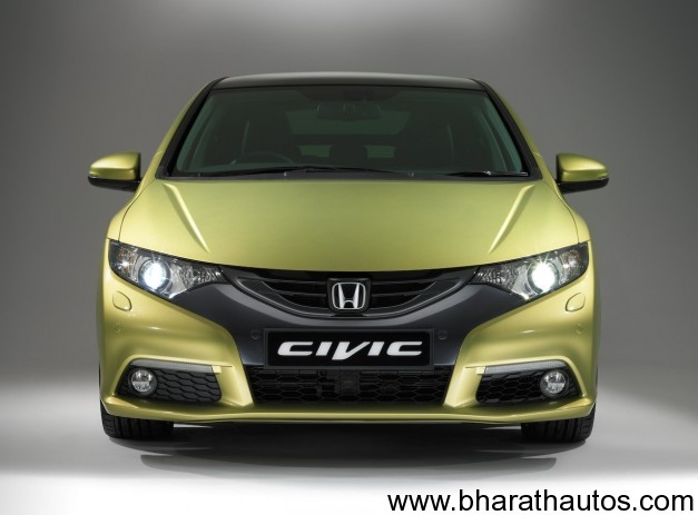 Euro-spec 2012 Honda Civic - 001