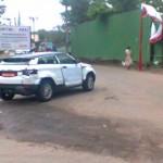 Range Rover Evoque spied in Pune - 003