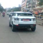 Range Rover Evoque spied in Pune - 001