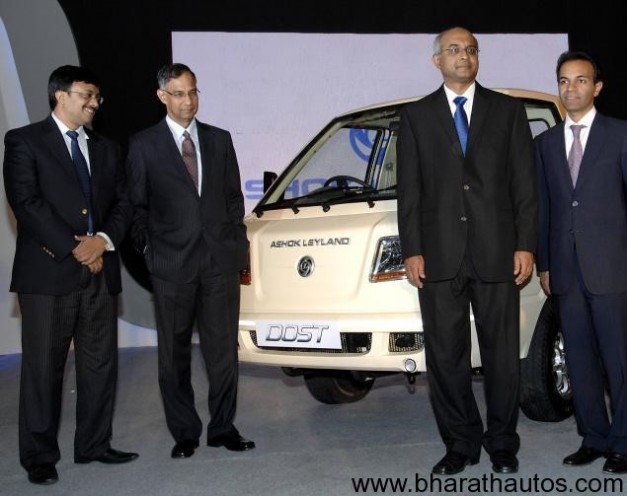 Ashok Leyland launches Dost at Rs 3.79 lakhs