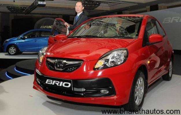 Honda Brio launched