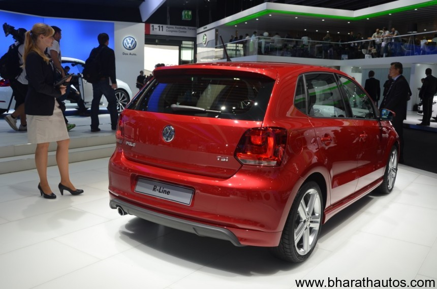 volkswagen showcases polo r line at frankfurt motor show. Black Bedroom Furniture Sets. Home Design Ideas
