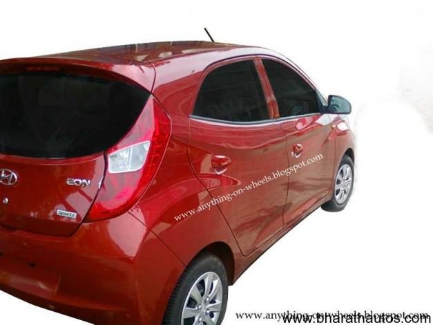 Hyundai Eon - RearView