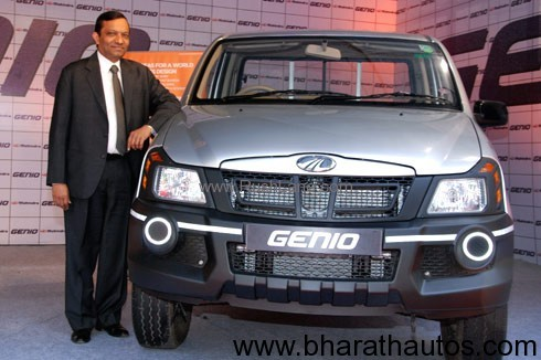 Mahindra Genio range launched for global market
