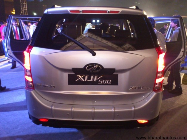 Mahindra XUV500 - RearView