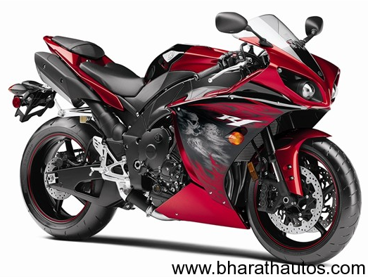 New-YZF-R1-Yamaha-Red-Motorcycle