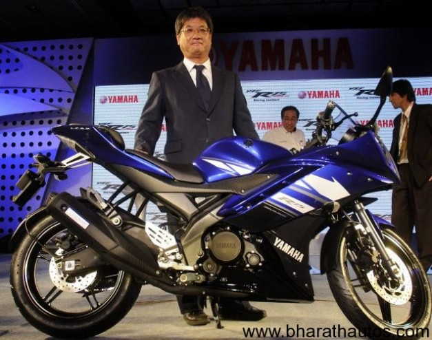 Yamaha India launches R15 Version 2.0 at Rs. 1.07 Lakhs