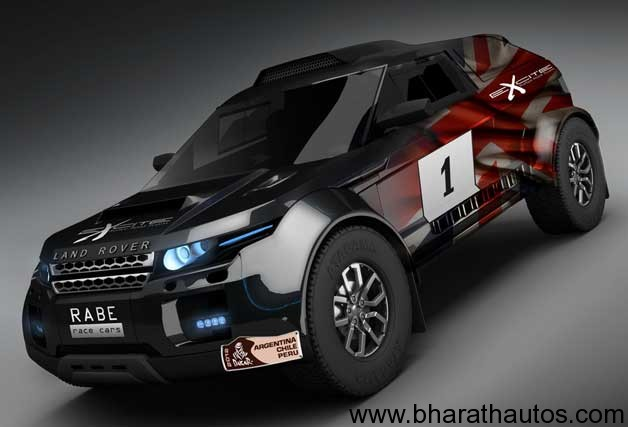 Range Rover Evoque Will Enter Dakar Rally With Bmw Power
