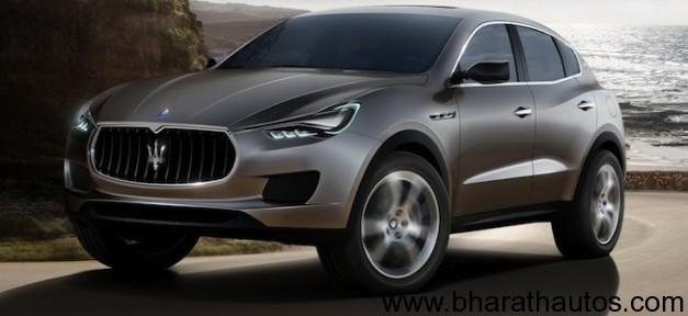 Maserat Kubang SUV Concept