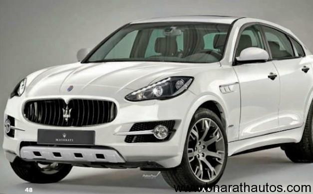Maserati SUV concept leaked