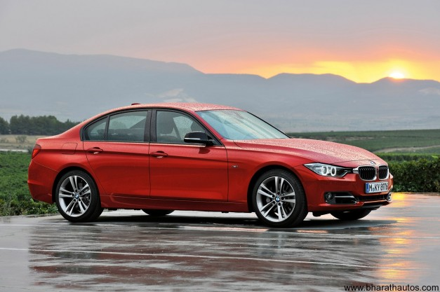 2012 BMW 3-Series - SideView