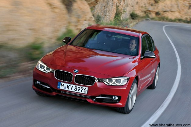 2012 BMW 3-Series - FrontView