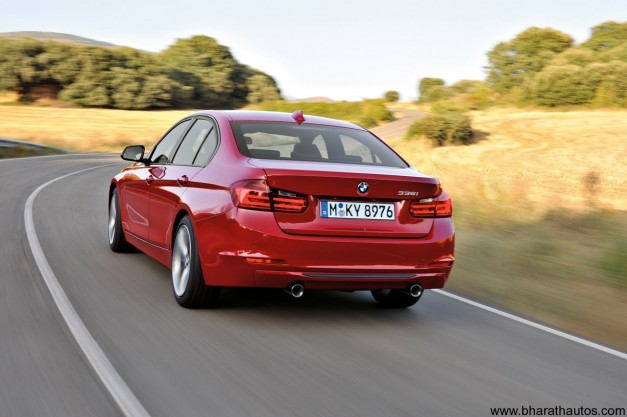 2012 BMW 3-Series - RearView