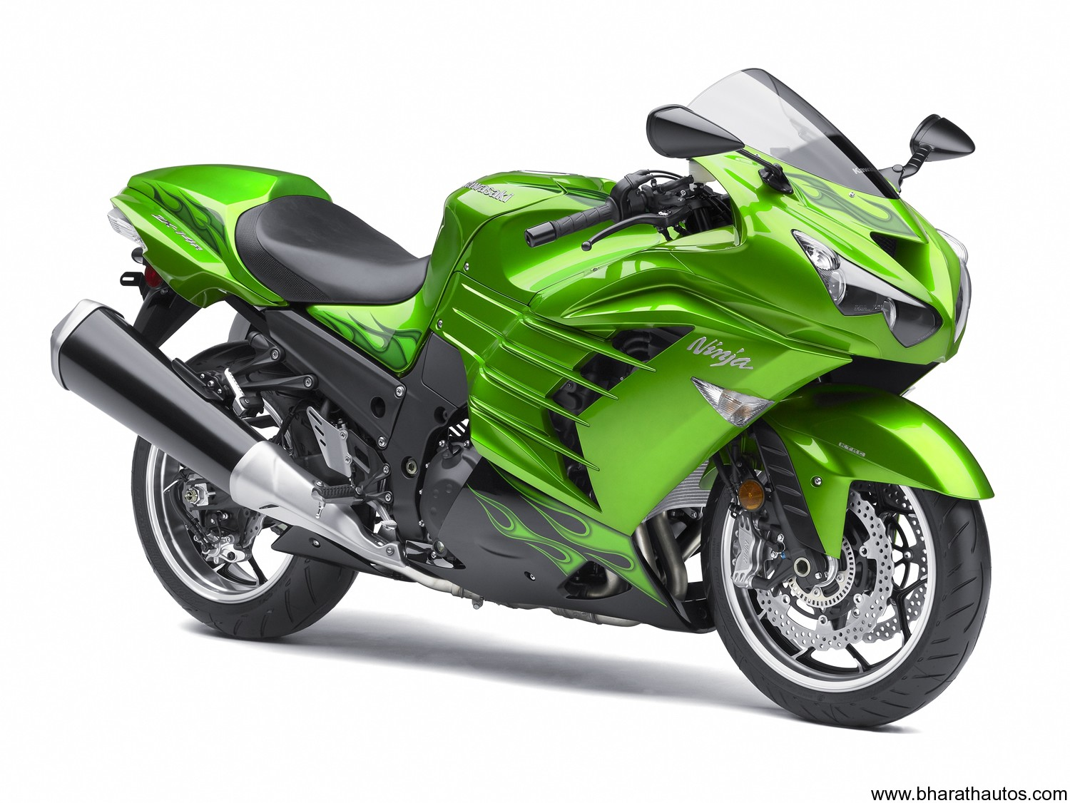 2012 Kawasaki ZZR1400 is the world's fastest motorcycle