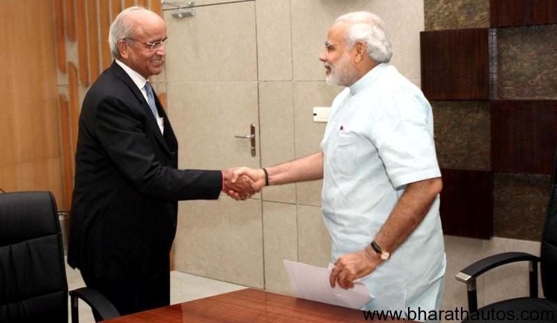 Maruti Suzuki ties with Modi