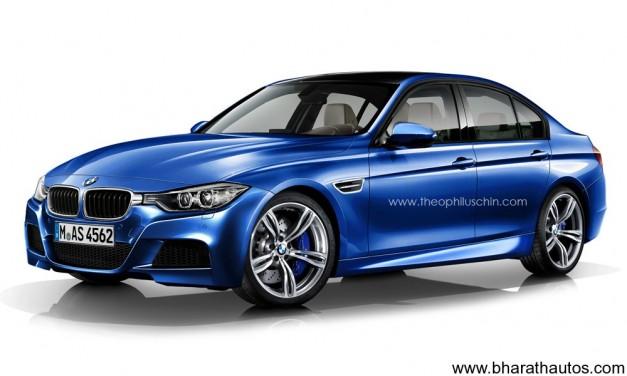 2014 BMW M3 Sedan - Front