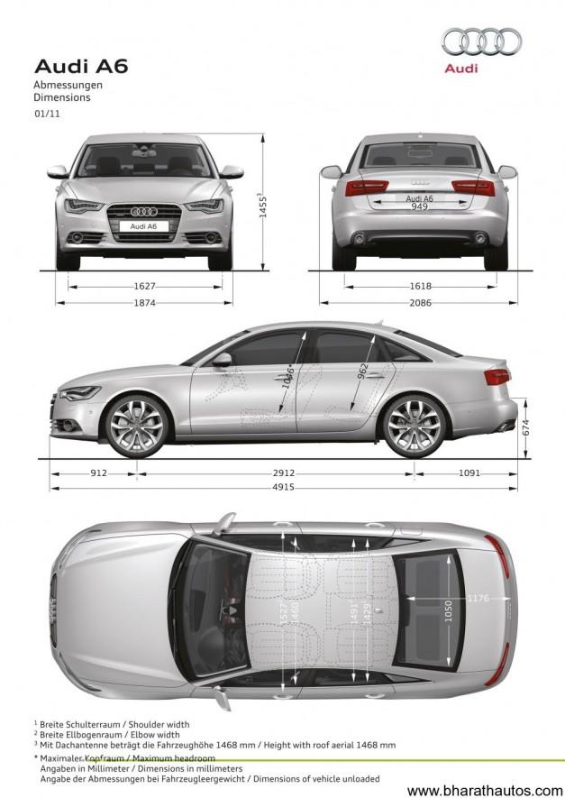 New Audi A6 2.0 TDI