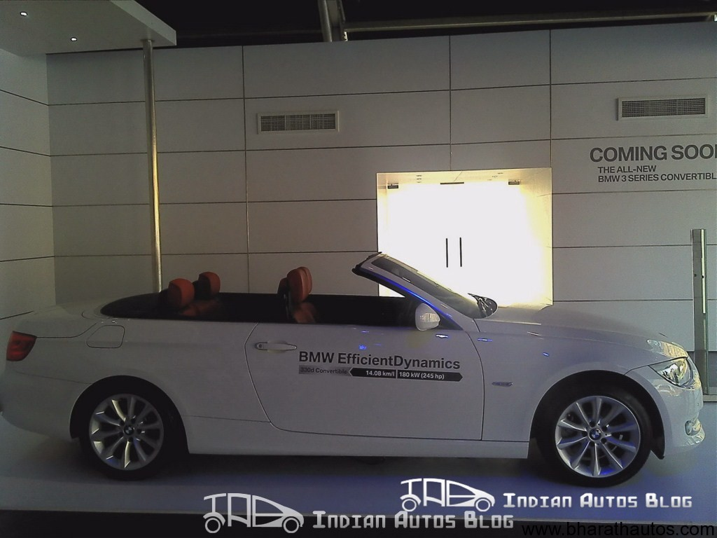 Bmw 3 Series Convertible 330d Coming To India Soon