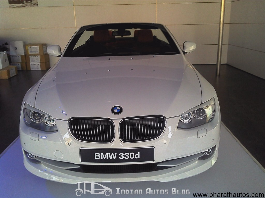 BMW Series Convertible D Coming To India Soon - Bmw 3 series hardtop convertible price