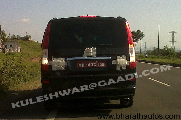 Force Motors' Mercedes Viano - RearView