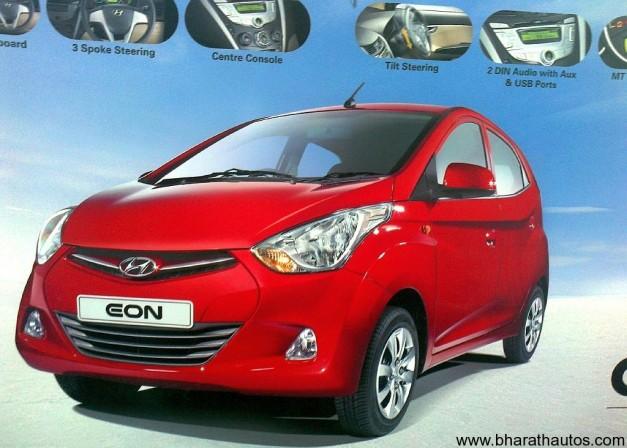 Hyundai Eon Brochure leaked