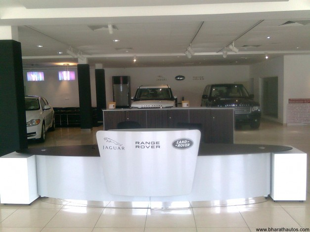 JLR new showroom in Kochi