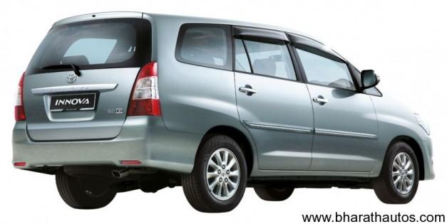 Toyota Innova facelift - RearView