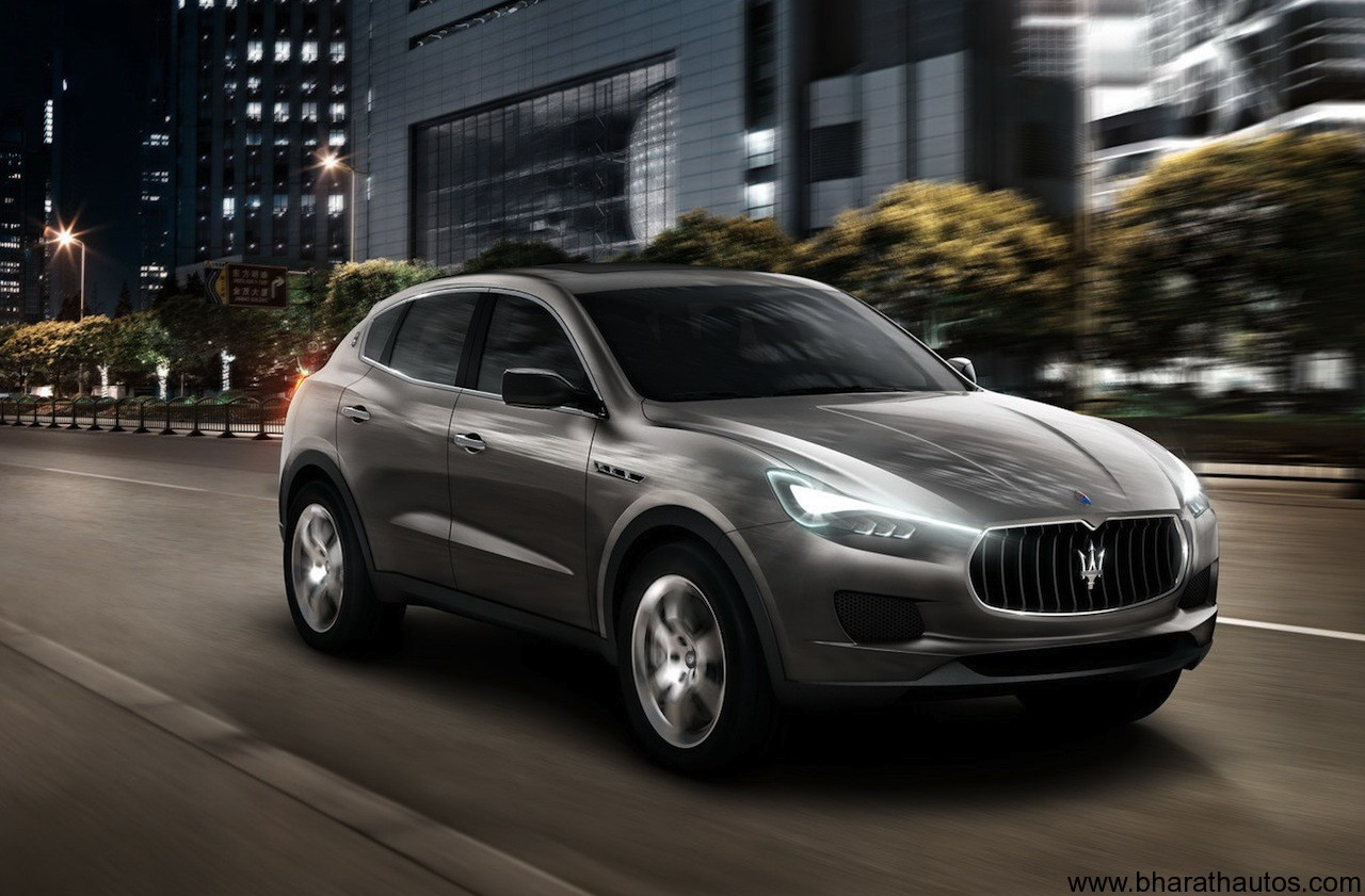 maserati s new kubang suv christened as cinqueporte. Black Bedroom Furniture Sets. Home Design Ideas