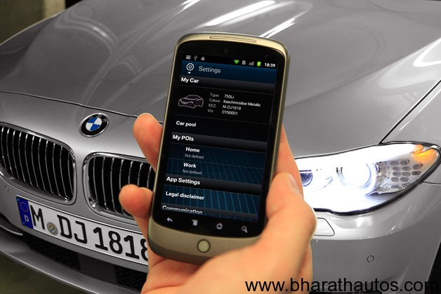 My BMW Remote app comes to Android