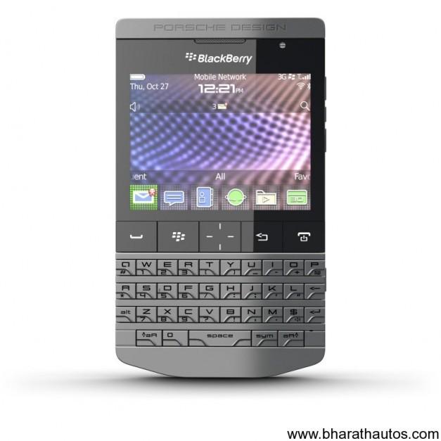 Blackberry Porsche Design P'9981 Smartphone Unveiled