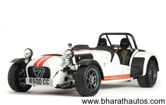 Caterham to launch its vehicles in India