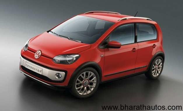 Volkswagen Up! concept 5 door version