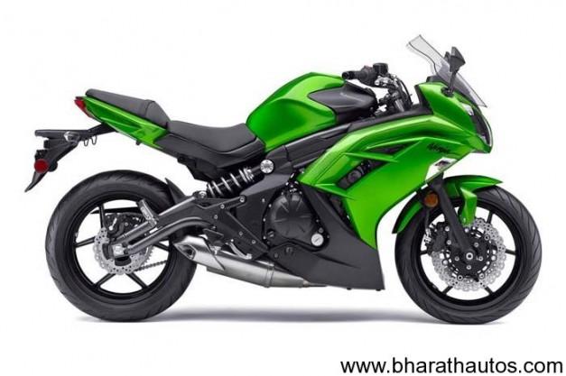 2012 Kawasaki Ninja 650R - Green color