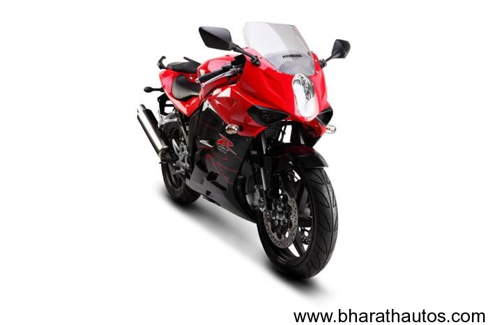 Hyosung GT250 (Faired variant) - 004